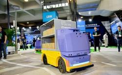 Alibaba ra mắt robot giao hàng tự động, an toàn và nhanh chóng với tốc độ di chuyển tối đa 15 km/h