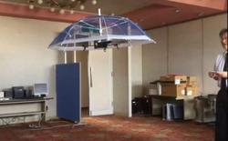 Tự động bay trên đầu để che nắng mưa, đây là dù-drone đến từ Nhật Bản dành riêng cho các tay golf