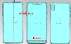 Lộ diện bản vẽ thiết kế xác nhận iPhone X Plus sẽ sử dụng cụm 3 camera sau giống như Huawei P20 Pro