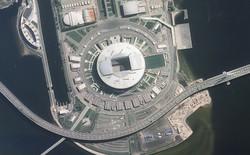 Chiêm ngưỡng toàn bộ các sân vận động phục vụ World Cup 2018 qua loạt ảnh chụp từ Trạm Vũ trụ Quốc tế