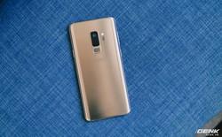Trên tay Galaxy S9+ Hoàng Kim lấp lánh, RAM 6GB, bộ nhớ 128GB, giá từ 24.490.000 đồng