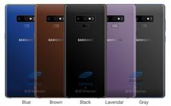 """Lộ hình ảnh thiết kế cho thấy Galaxy Note 9 sẽ có viền mỏng hơn cả Note 8, kiên quyết nói không với """"tai thỏ"""""""