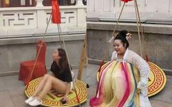 Công viên giải trí Trung Quốc miễn phí vé vào cho những cô gái nặng trên 61,8kg