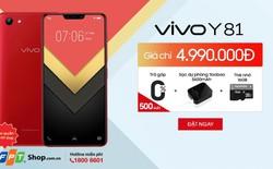 FPT Shop độc quyền mở đặt mua trước Vivo Y81 Red với giá sốc chỉ 4,99 triệu đồng