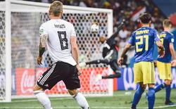 [World Cup 2018] Đức xin lỗi Thụy Điển vì màn ăn mừng quá trớn sau bàn thắng của Toni Kroos