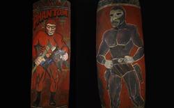 Tại sao người Wahgi lại vẽ lên khiên chiến đấu hình ảnh vị siêu anh hùng The Phantom trong truyện tranh?