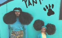 Chùm ảnh: Cặp bố con xác lập kỷ lục thế giới vì bộ tóc bông xù đầy ấn tượng và câu chuyện phía sau khiến mọi người thầm thán phục