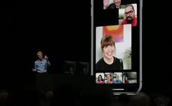 [WWDC 2018] Apple chính thức cho phép gọi FaceTime theo nhóm, giao diện tinh tế, hỗ trợ tối đa 32 người