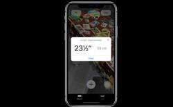 [WWDC 2018] Apple và tham vọng biến iPhone thành thước kẻ với iOS 12
