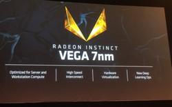 [Computex 2018] AMD ra mắt GPU tiến trình 7nm đầu tiên trên thế giới, sở hữu 32GB bộ nhớ HBM2