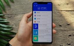 Xiaomi Mi 8 không đạt 301.472 điểm AnTuTu như hãng này đã quảng cáo