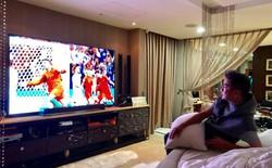 """Đàm Vĩnh Hưng khoe TV """"hàng khủng"""" để xem World Cup 2018"""