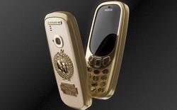 Caviar sản xuất Nokia 3310 khung titan mạ vàng 24k để kỷ niệm cuộc gặp lịch sử giữa Trump và Putin