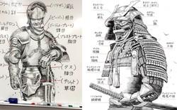 Vẽ tay đẹp đến choáng váng, bảo sao họa sĩ này lại có thể làm việc cho Square Enix, Capcom