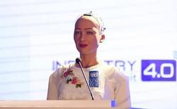 Sophia: Robot sẽ giúp con người có thêm thời gian rảnh để nghe nhạc Sơn Tùng M-TP