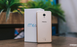 """""""Thích mê"""" với cử chỉ nút home như iPhone X và cảm biến vân tay cạnh viền trên Meizu M6S"""