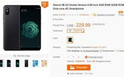 Xiaomi Mi A2 lộ diện trên trang web thương mại điện tử trước ngày ra mắt, giá bán từ 229 USD