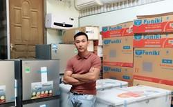 """[Chuyện nghề] Ham chơi, bỏ bê học hành, chàng trai 23 tuổi trở thành ông chủ 2 cửa hàng điện lạnh cũ vì câu nói """"người như mày không bao giờ khá được"""""""