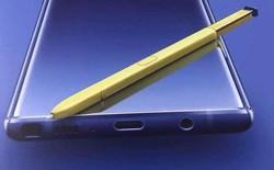 Bút S-Pen trên Galaxy Note9: Tích hợp bluetooth, điều khiển từ xa cách 18m, sạc trong 40 giây