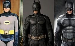 Sự tiến hoá của tiêu chuẩn hình thể siêu anh hùng thế giới điện ảnh theo thời gian