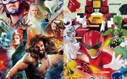 """Vẫn chưa thoát kiếp bị chế, thêm một poster """"Aquaman"""" bị sỉ là """"màu mè như... 5 anh em siêu nhân"""""""