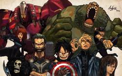 Sẽ ra sau nếu như các hình tượng nổi tiếng trong manga trở thành siêu anh hùng Marvel?