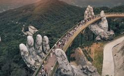 """Báo nước ngoài viết về Cầu Vàng Đà Nẵng, đồng loạt khen vẻ đẹp nghẹt thở, như bước ra từ phim """"Chúa tể những chiếc nhẫn"""""""