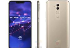 Huawei Mate 20 Lite lộ ảnh báo chí: Tai thỏ, 4 camera, giá 10.6 triệu đồng?