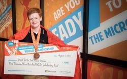 Thiếu niên 15 tuổi giành giải thưởng 1.500 USD cho cuộc thi kỹ năng Office của Microsoft