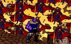 Thích thú với trận chiến giữa Avengers và Thanos được thể hiện dưới dạng 16-bit