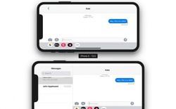 iPhone X Plus sẽ có giao diện ở chế độ landscape tương tự như iPad