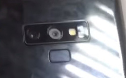 Xuất hiện video trên tay Galaxy Note 9, hệ thống camera kép giống với Galaxy S9+