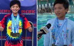 Mới 10 tuổi, cậu bé này đã phá kỷ lục bơi tự do 100m mà Michael Phelps nắm giữ 23 năm về trước