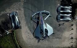 Aston Martin trình làng concept xe bay, sẽ xuất hiện trong phim Điệp viên 007