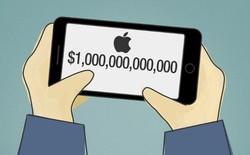 Apple đã chính thức trở thành công ty công nghệ 1000 tỷ đô đầu tiên trên thế giới