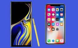 Galaxy Note9 đọ sức iPhone X: 5 bằng chứng cho thấy Samsung đang vượt qua Apple về mặt trải nghiệm người dùng