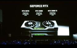 RTX 2070, 2080 và 2080TI chính thức ra mắt, công nghệ dựng hình hoàn toàn mới, giá từ 499 USD