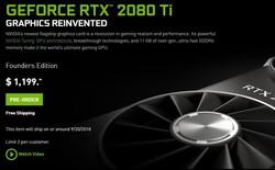 GeForce RTX2080Ti rất mạnh nhưng mua lúc này cũng chẳng hơn gì GTX 1080Ti đâu