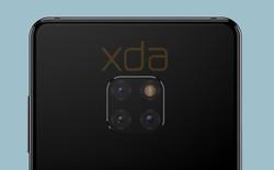 Huawei Mate 20 lộ diện với tai thỏ siêu nhỏ và cụm ba camera sau cực kỳ độc đáo