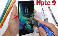 Tra tấn Samsung Galaxy Note9: Rất bền ngoài việc có thể tháo được nút Bixby