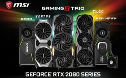 Tổng hợp các mẫu GeForce RTX 2080 và 2080Ti đã xuất hiện trên thị trường hiện nay: càng xem càng khó chọn!