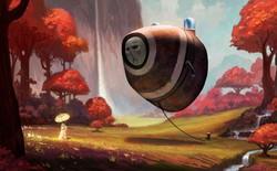 Khoa học viễn tưởng và thần thoại tưởng chừng như không liên quan với nhau lại phối hợp cực kỳ đẹp mắt trong bộ tranh này