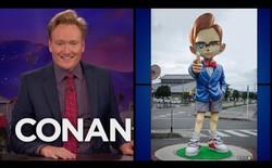 Chết cười với cuộc chiến tranh giành tên tuổi giữa Conan O'Brien và thị trấn khai sinh ra Thám tử Conan