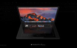 Cùng chiêm ngưỡng concept MacBook với bàn phím cảm ứng cực đẹp mắt