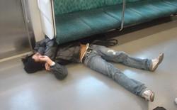 Say xỉn rồi mắc kẹt dưới ghế, người đàn ông khiến tuyến tàu điện lớn nhất Tokyo đình trệ trong 1 giờ