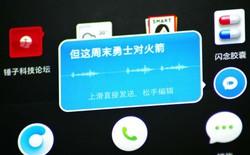 """Ứng dụng OTT """"biến lời thành chữ"""" thách thức sự thống trị của Wechat tại Trung Quốc"""