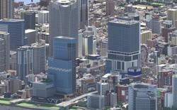 Ngỡ như đô thị sầm uất ở Nhật, loạt ảnh này lại được chụp trong Minecraft