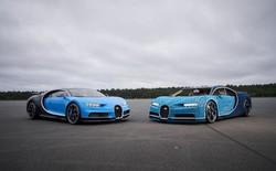 Lego dùng hơn 1 triệu mảnh ghép làm siêu xe Bugatti Chiron, lái được nhưng tốc độ chỉ bằng 1/21 xe thật