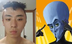 Hí hửng đi nhuộm tóc, anh chàng Hàn Quốc nhận về quả đầu phình như nhân vật hoạt hình