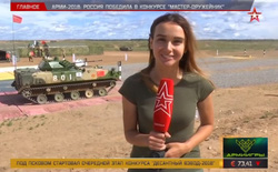 Giải đua xe chở lính dù đổ bộ: Belarus bật bãi, Nga cho Trung Quốc hít khói với 6 phút cách biệt